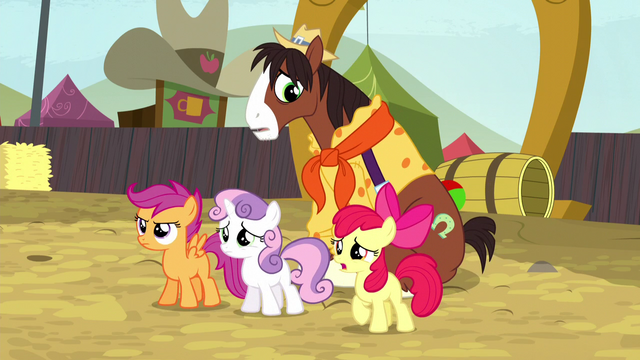 File:Cutie Mark Crusaders stand up for Trouble Shoes S5E6.png