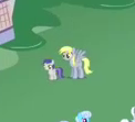 Derpy and foal closeup S2E17