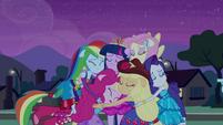 Twilight and friends group hug EG