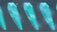 Crystals arranged in order of purity S6E1