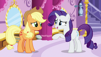 "Rarity ""that dress did look a bit like a disco ball"" S7E9"