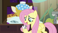 """Fluttershy """"every mouse has gotta wait their turn"""" S7E5.png"""