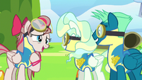 Sky and Vapor are Angel Wings' new favorite ponies S6E24