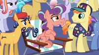 """Stubborn Crystal Pony """"I can't wait to see that!"""" S6E2"""