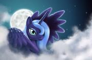 FANMADE Luna in the night