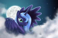 FANMADE Luna in the night