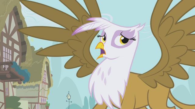 File:Gilda mocking Fluttershy S1E05.png