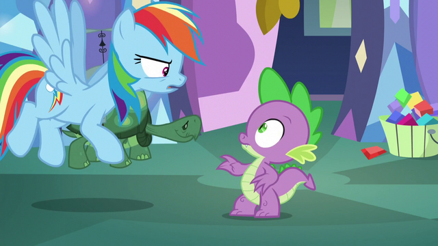 """File:Rainbow """"what would you know"""" S5E5.png"""