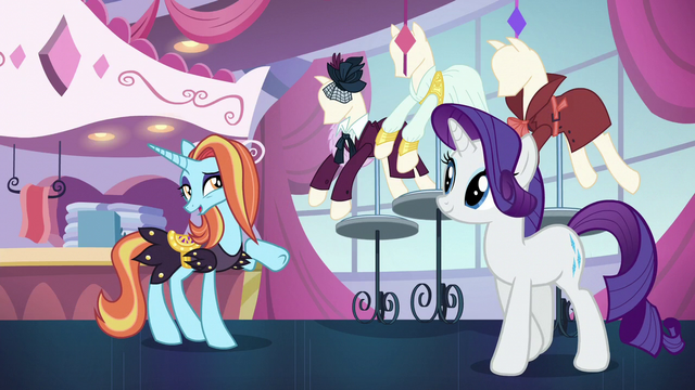 "File:Sassy ""you could sweet-talk a filly out of candy!"" S5E15.png"