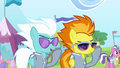 Spitfire and Fleetfoot putting on their glasses S4E10.png