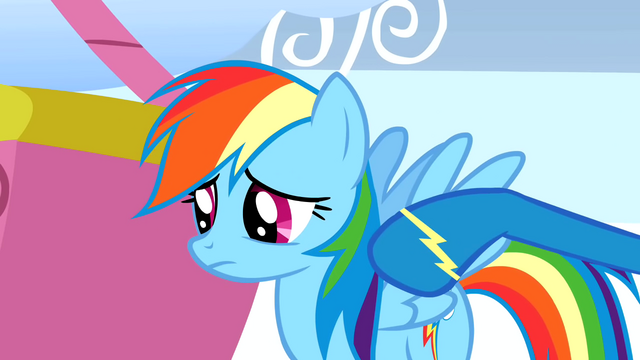 File:A wonderbolt poking Rainbow's shoulder S1E16.png