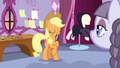 Applejack and Inky Rose smiling together S7E9.png