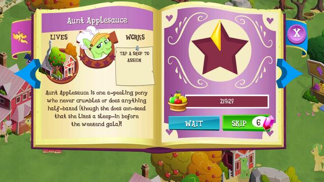 File:Auntie Applesauce album MLP mobile game.png