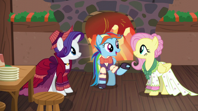 File:Merry, Snowdash, and Flutterholly talking together S6E8.png