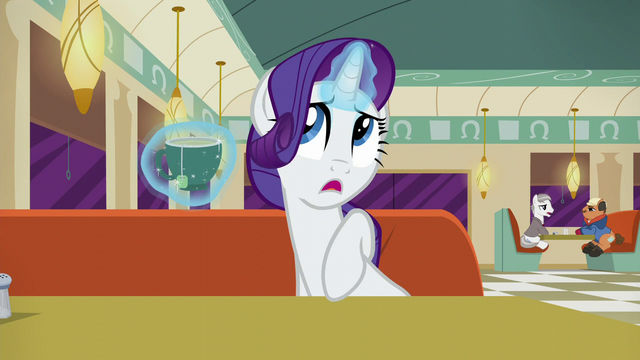 "File:Rarity ""Although he can be pushy at times"" S6E9.png"
