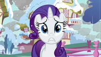 Rarity panicking S03E13