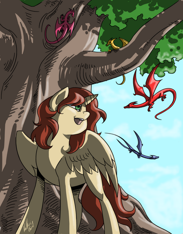 File:FANMADE Erin Olsen Alicorn ID valkyrie-girl.png
