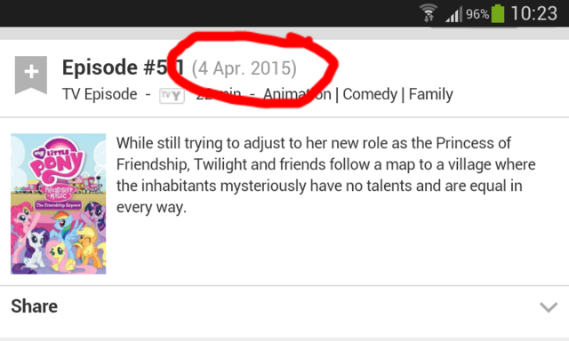 File:FANMADE IMDb The Friendship Express date circled.png