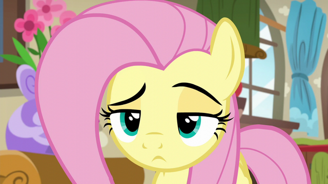 File:Fluttershy very skeptical S6E11.png