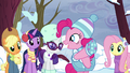 """Pinkie Pie """"she's using the word!"""" S5E5.png"""