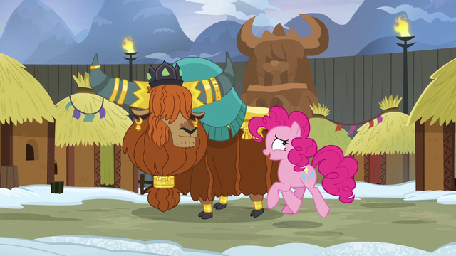 File:Pinkie and Prince Rutherford walking together S7E11.png