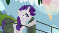 Rarity despairs about tapestries S4E03