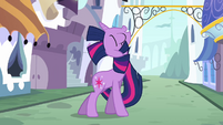 Twilight Sparkle awesome pose S3E1