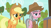 """Applejack """"wanderin' into the wrong cave"""" S7E5"""