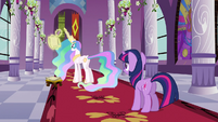 Celestia 'And now you must go' S3E2
