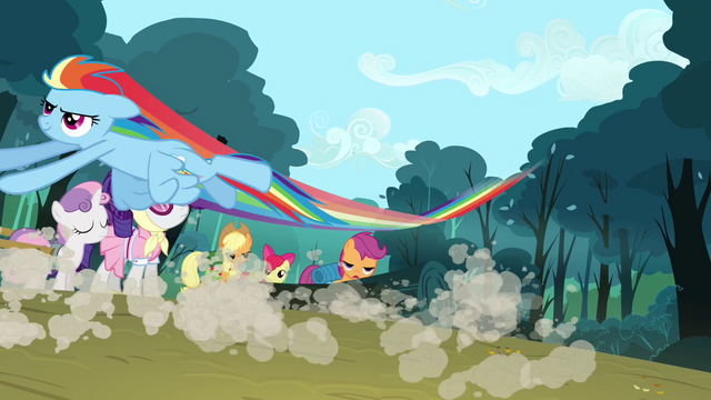 File:Rainbow dropping the logs S3E6.png