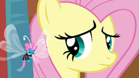 Seabreeze nodding to Fluttershy S4E16