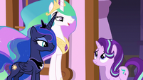 "Princess Celestia ""it was the right call"" S7E10"