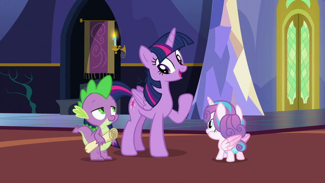 """File:Twilight """"I know, Spike, we're leaving"""" S7E3.png"""