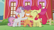 Cutie Mark Crusaders group hug S5E18.png