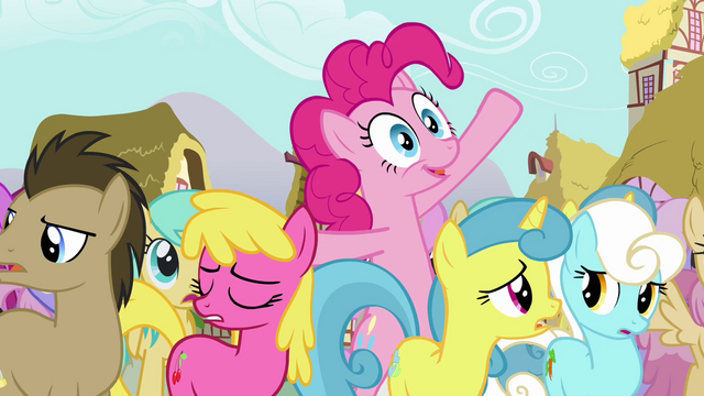 File:Pinkie Pie trying to get Twilight's attention S3E03.png
