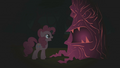 Pinkie Pie laughing at first tree S1E02.png