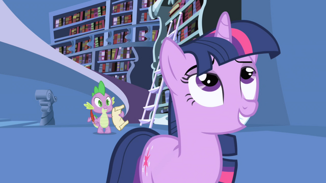 Файл:Twilight tells Spike to send completed letter S1E01.png