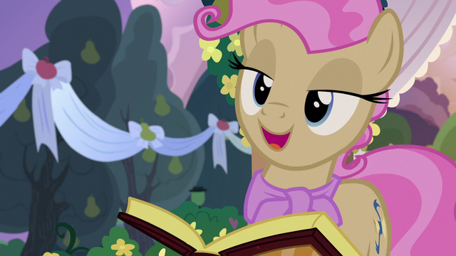 """File:Young Mayor Mare """"I think that's my cue"""" S7E13.png"""