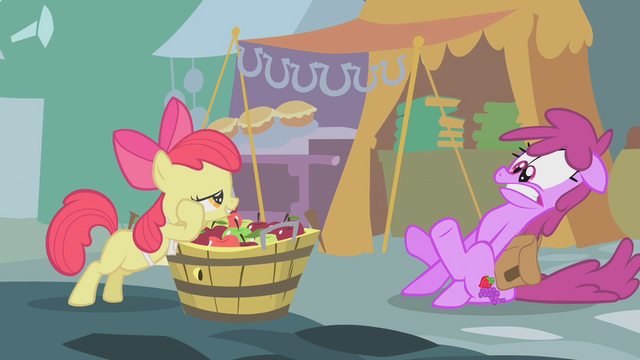 "File:Apple Bloom ""We take cash or credit"" S01E12.png"