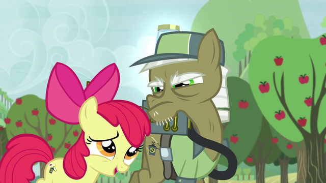 File:Apple Bloom apologizes to pest pony for repeating what he says S5E04.png