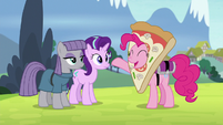 "Pinkie ""you two are becoming best friends"" S7E4"