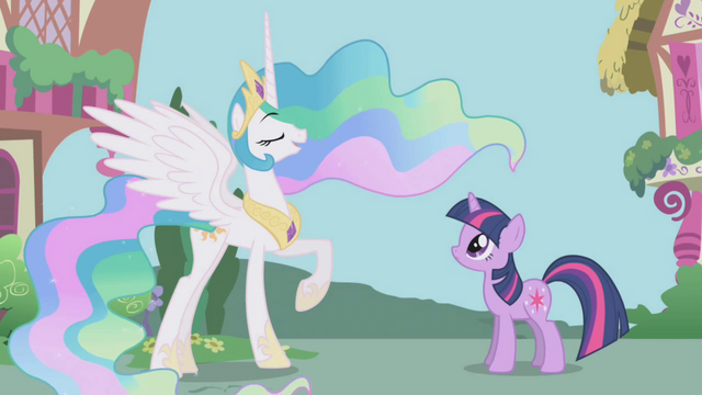 File:Princess Celestia in Ponyville S1E2.png
