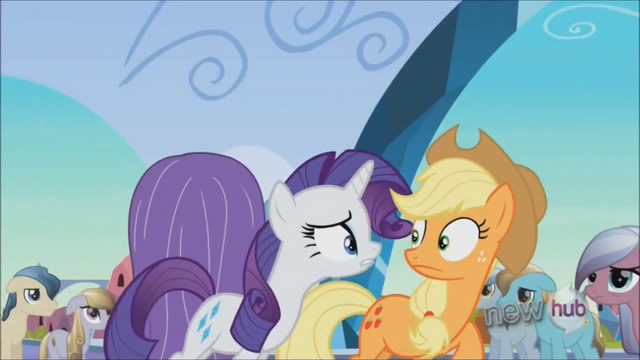 File:Rarity informs Applejack on her materials shortage S3E2.png