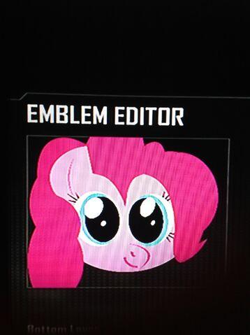 File:FANMADE Pinkie Pie Black Ops 2 Emblem.jpg