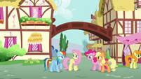 """Rainbow """"just had lunch with Fluttershy's parents"""" S6E11"""