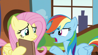 "Rainbow ""then your book must be wrong!"" S5E5"