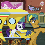 Rarity Takes Manehattan promotional