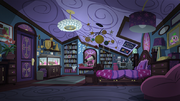 Legend of Everfree background asset - Twilight Sparkle's room 2