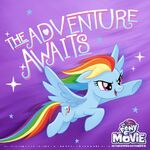 MLP The Movie 'The Adventure Awaits' promotional image