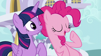 "Pinkie ""we hang out all the time"" S5E12"